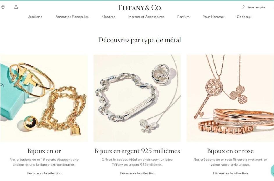 bijoux tiffany and co
